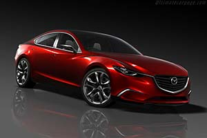 Click here to open the Mazda Takeri Concept gallery