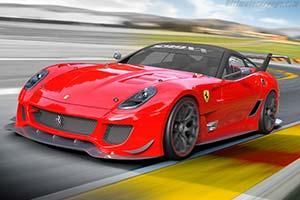 Click here to open the Ferrari 599XX Evoluzione gallery