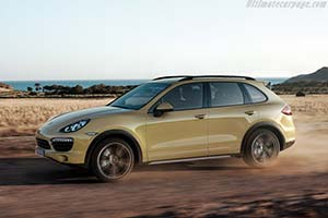 Click here to open the Porsche Cayenne S gallery
