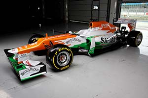 Click here to open the Force India VJM05 Mercedes gallery