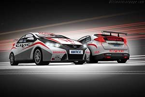 Click here to open the Honda Civic WTCC gallery