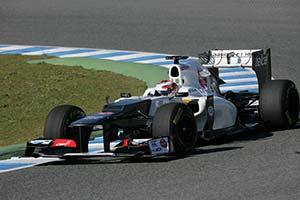Click here to open the Sauber C31 Ferrari gallery