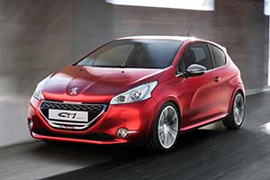 Click here to open the Peugeot 208 GTi Concept gallery