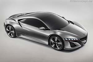 Click here to open the Honda NSX Concept gallery