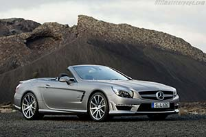 Click here to open the Mercedes-Benz SL 63 AMG gallery