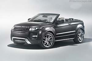 Click here to open the Land Rover Range Rover Evoque Convertible Concept gallery