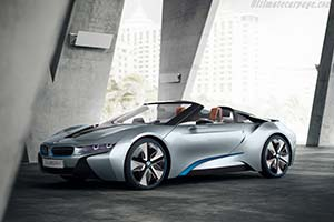 Click here to open the BMW i8 Concept Spyder gallery