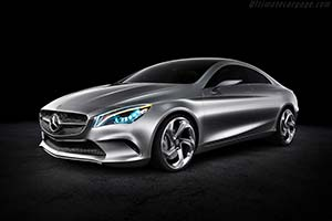 Click here to open the Mercedes-Benz Concept Style Coupé gallery