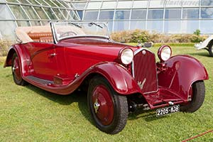 Click here to open the Alfa Romeo 8C 2300 Figoni Cabriolet gallery