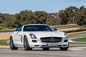 Click here to open the Mercedes-Benz SLS AMG GT Roadster gallery