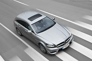 Click here to open the Mercedes-Benz CLS 63 AMG Shooting Brake gallery