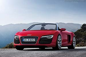 Click here to open the Audi R8 V10 Spyder gallery