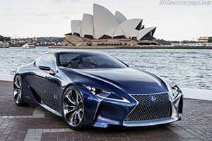 Click Here To Open The Lexus Lf Lc Blue Concept Gallery