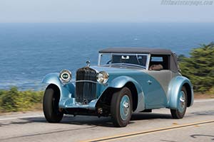 Click here to open the Delage D8 SS Figoni Cabriolet gallery