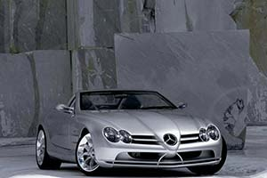 Click here to open the Mercedes-Benz Vision SLR gallery