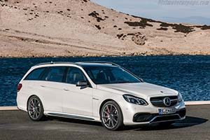 Click here to open the Mercedes-Benz E 63 AMG S-Model Estate gallery