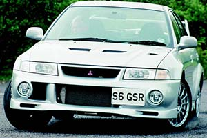 Click here to open the Mitsubishi Lancer EVO VI GSR gallery