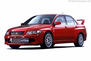 Click here to open the Mitsubishi Lancer EVO VII GSR gallery