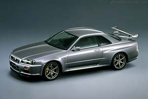 Click here to open the Nissan Skyline R34 GT-R gallery