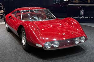 Click here to open the Ferrari 206 P Dino Pininfarina Berlinetta Speciale gallery