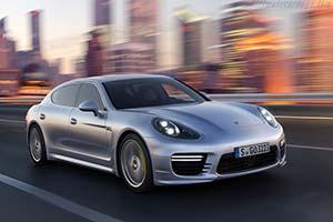 Click here to open the Porsche Panamera Turbo Executive gallery