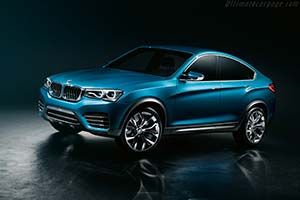 Click here to open the BMW Concept X4 gallery