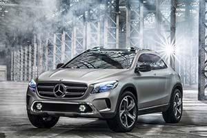 Click here to open the Mercedes-Benz Concept GLA gallery