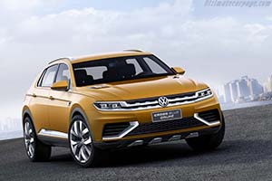 Click here to open the Volkswagen CrossBlue Coupé gallery