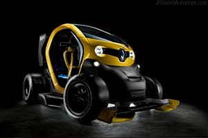 Click here to open the Renault Twizy Renault Sport F1 Concept gallery