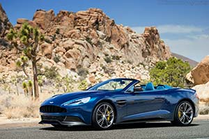 Click here to open the Aston Martin Vanquish Volante gallery