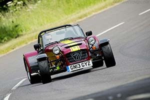 Click here to open the Caterham Seven 620R gallery