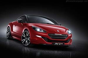Click here to open the Peugeot RCZ R gallery