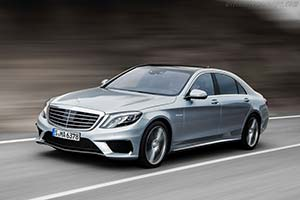 Click here to open the Mercedes-Benz S 63 AMG gallery