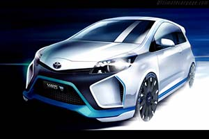 Click here to open the Toyota Yaris Hybrid-R Concept gallery