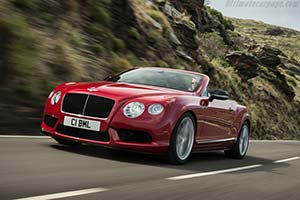 Click here to open the Bentley Continental GT V8 S Convertible gallery