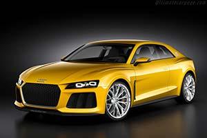 Click here to open the Audi Sport quattro concept gallery