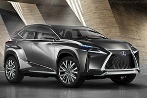 Click here to open the Lexus LF-NX Crossover Concept gallery