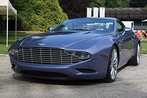 Click here to open the Aston Martin DBS Zagato Coupé Centennial gallery