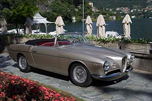 Click here to open the Alfa Romeo 1900C SS Ghia-Aigle Cabriolet gallery