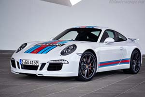 Click here to open the Porsche 911 Carrera S Martini Racing Edition gallery