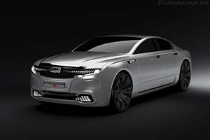 Click here to open the Qoros 9 Sedan Concept gallery