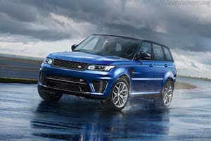 Click here to open the Land Rover Range Rover Sport SVR gallery