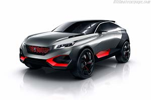 Click here to open the Peugeot Quartz Concept gallery