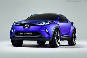 Click here to open the Toyota C-HR Concept gallery