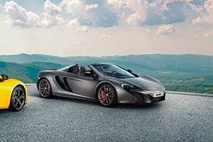 Click here to open the McLaren 625C Spider gallery