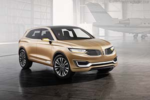 Click here to open the Lincoln MKX Concept gallery