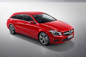 Click here to open the Mercedes-Benz CLA 45 AMG Shooting Brake gallery