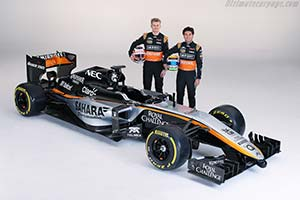 Click here to open the Force India VJM08 Mercedes gallery
