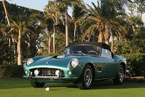 Click here to open the Ferrari 250 GT SWB California Spyder  gallery
