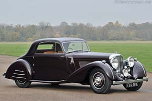 Click here to open the Bentley 4¼ Park Ward Sports Coupe gallery